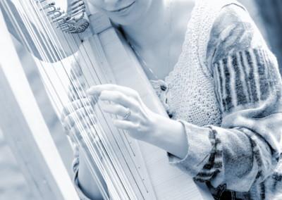 Harfa na svatbu 2