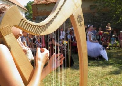 Harfa na svatbu 5