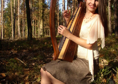 Harfa na svatbu 3